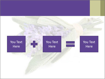 Lavender and sage PowerPoint Template - Slide 95