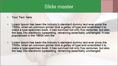 Foot massage PowerPoint Template - Slide 2