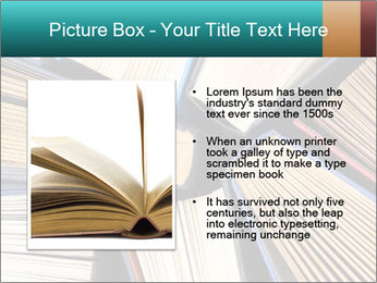 Thick Books PowerPoint Templates - Slide 13