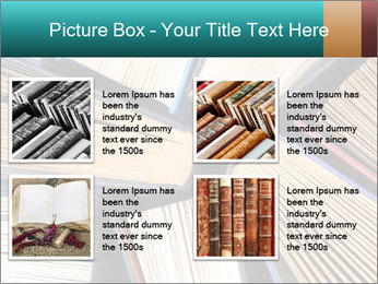 Thick Books PowerPoint Templates - Slide 14