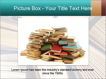 Thick Books PowerPoint Templates - Slide 15
