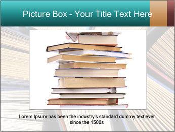 Thick Books PowerPoint Templates - Slide 16