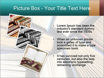 Thick Books PowerPoint Templates - Slide 17