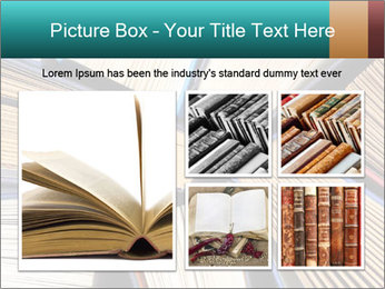 Thick Books PowerPoint Templates - Slide 19
