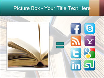 Thick Books PowerPoint Templates - Slide 21