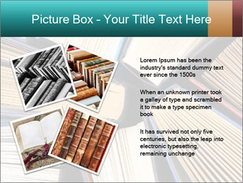 Thick Books PowerPoint Templates - Slide 23
