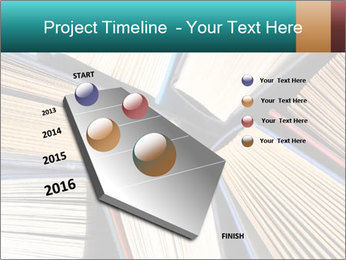 Thick Books PowerPoint Templates - Slide 26