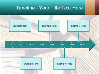 Thick Books PowerPoint Templates - Slide 28