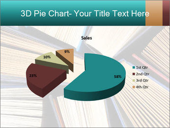 Thick Books PowerPoint Templates - Slide 35