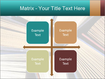 Thick Books PowerPoint Templates - Slide 37
