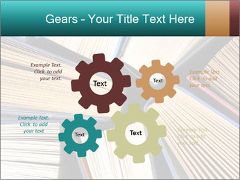 Thick Books PowerPoint Templates - Slide 47