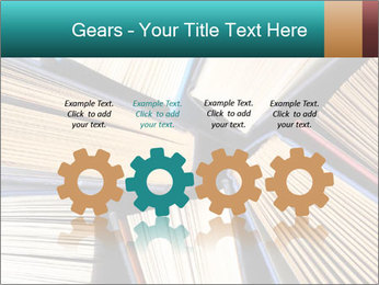 Thick Books PowerPoint Templates - Slide 48