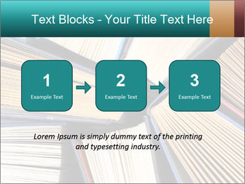 Thick Books PowerPoint Templates - Slide 71