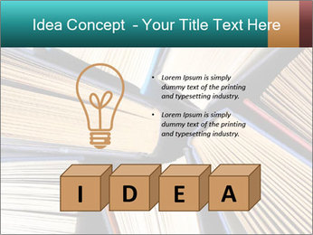 Thick Books PowerPoint Templates - Slide 80