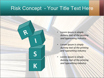 Thick Books PowerPoint Templates - Slide 81