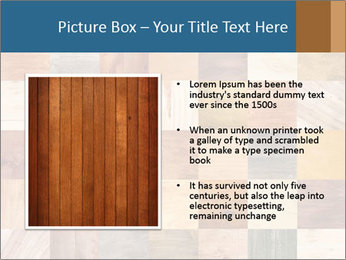 Wooden Mosaic PowerPoint Template - Slide 13