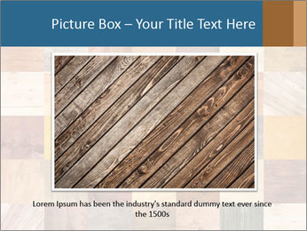 Wooden Mosaic PowerPoint Template - Slide 16