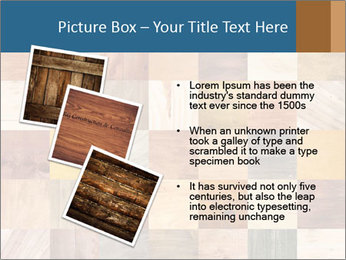 Wooden Mosaic PowerPoint Template - Slide 17