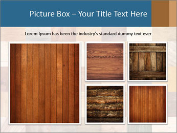 Wooden Mosaic PowerPoint Template - Slide 19