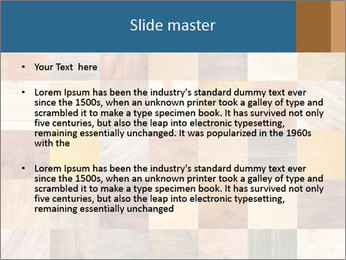 Wooden Mosaic PowerPoint Templates - Slide 2