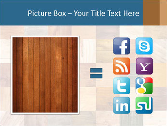 Wooden Mosaic PowerPoint Template - Slide 21