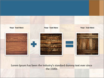 Wooden Mosaic PowerPoint Template - Slide 22