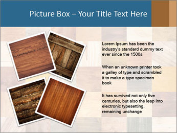 Wooden Mosaic PowerPoint Template - Slide 23