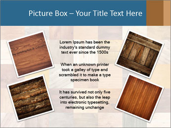 Wooden Mosaic PowerPoint Template - Slide 24