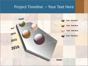 Wooden Mosaic PowerPoint Template - Slide 26
