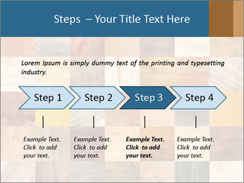 Wooden Mosaic PowerPoint Template - Slide 4