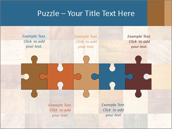 Wooden Mosaic PowerPoint Template - Slide 41