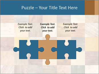 Wooden Mosaic PowerPoint Template - Slide 42