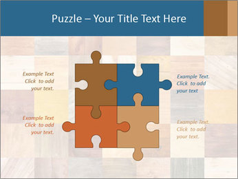 Wooden Mosaic PowerPoint Template - Slide 43