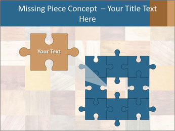 Wooden Mosaic PowerPoint Template - Slide 45