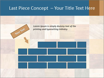 Wooden Mosaic PowerPoint Template - Slide 46