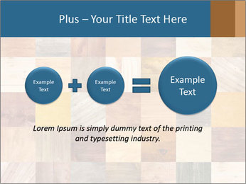 Wooden Mosaic PowerPoint Template - Slide 75