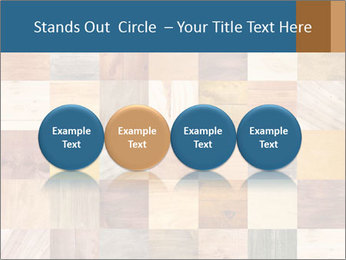 Wooden Mosaic PowerPoint Template - Slide 76