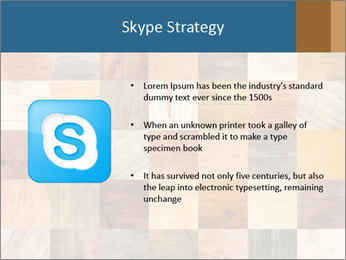 Wooden Mosaic PowerPoint Template - Slide 8