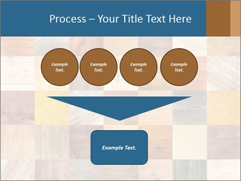 Wooden Mosaic PowerPoint Template - Slide 93