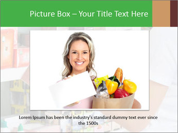 Woman Checks Barcode PowerPoint Templates - Slide 15