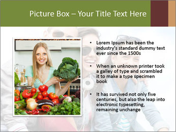 Friends Hanging Together PowerPoint Template - Slide 13