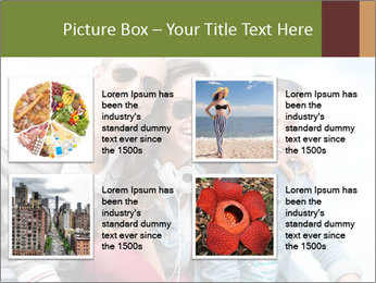 Friends Hanging Together PowerPoint Template - Slide 14