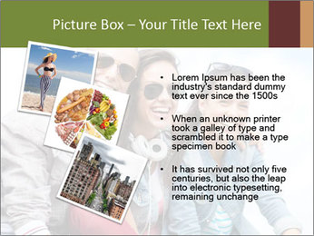 Friends Hanging Together PowerPoint Template - Slide 17