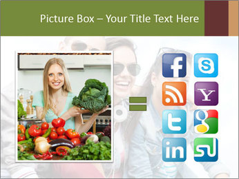 Friends Hanging Together PowerPoint Template - Slide 21