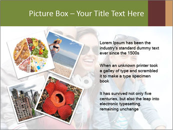 Friends Hanging Together PowerPoint Template - Slide 23
