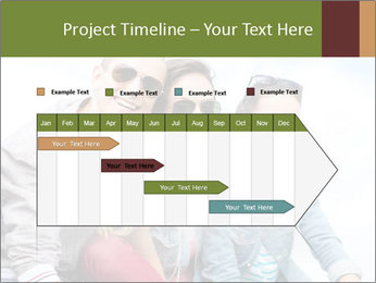 Friends Hanging Together PowerPoint Template - Slide 25