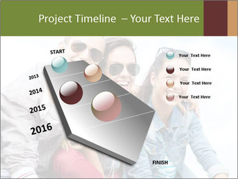 Friends Hanging Together PowerPoint Template - Slide 26
