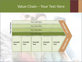 Friends Hanging Together PowerPoint Template - Slide 27