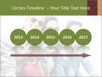 Friends Hanging Together PowerPoint Template - Slide 29
