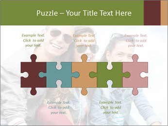 Friends Hanging Together PowerPoint Template - Slide 41